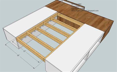 here diy king bed frame plans drop work