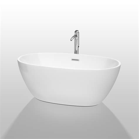 wyndham bathtubs juno 59 quot soaking bathtub by wyndham collection white