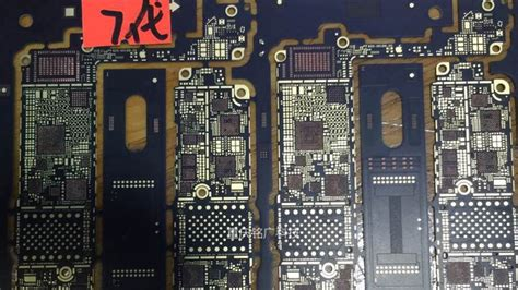 iphone pcb layout iphone 7 pcb leaked photos iclarified