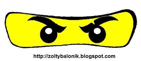 printable ninjago eyes globos para fiesta de ninjago tutorial con imprimible