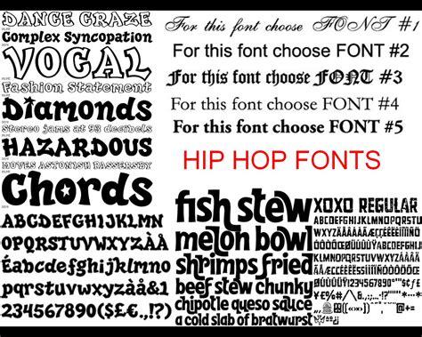 foundation portfolio hip hop rnb research fonts