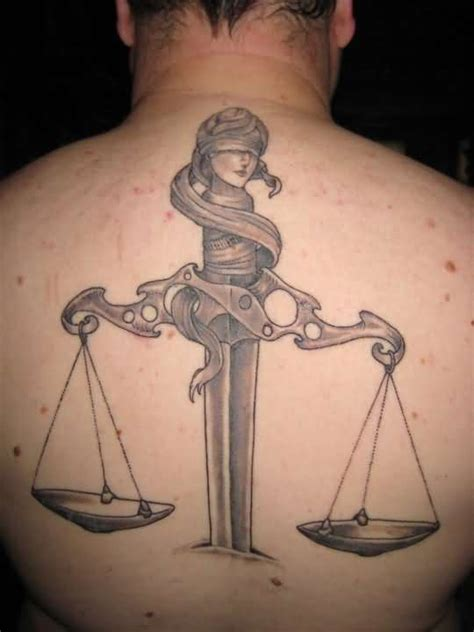 justice tattoo ideas and justice tattoo designs page 20