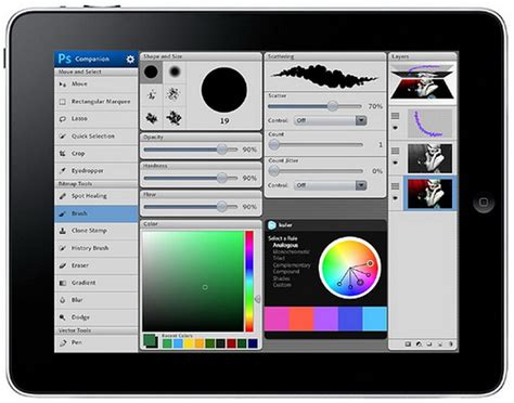 photoshop app for android free adobe announce photoshop touch app for android and stand