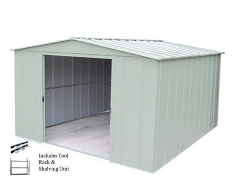 Storage Shed Deals Steel Storage Shed 10 X 8 Package