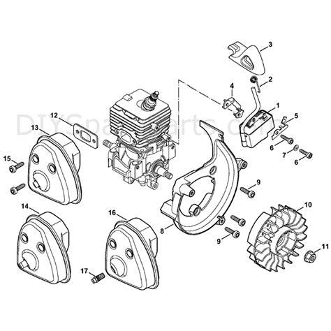 stihl bg 86 blower parts diagram stihl bg 86 blower bg86c e parts diagram ignition system