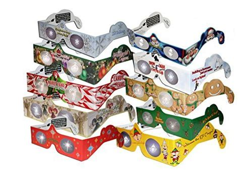 awardpedia 20 3d christmas glasses holiday specs 3d