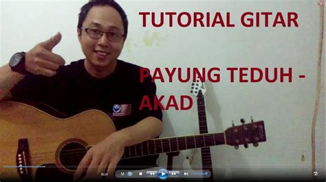 tutorial gitar tutorial gitar payung teduh akad youtube