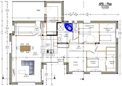 Plan De Maison Plain Pied Moderne 28 Images Plan plan maison moderne plain pied toit plat 28 images