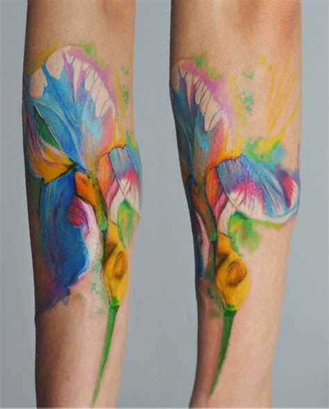 watercolor daisy tattoo gerbera watercolor search 0myart