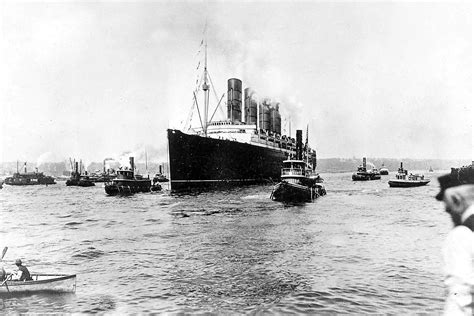 passenger ship sunk by german u boat how the lusitania horror hit home 100 years ago