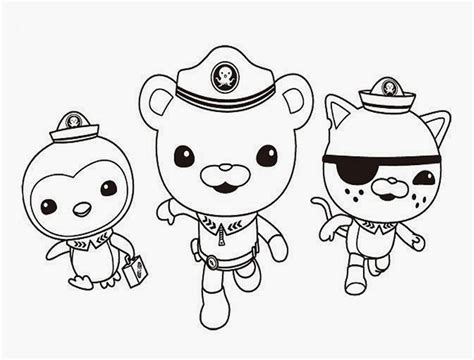 pics to color octonauts coloring pages to and print for free