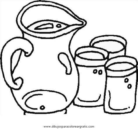 imagenes para colorear jarra dibujos mixtos jarra 1