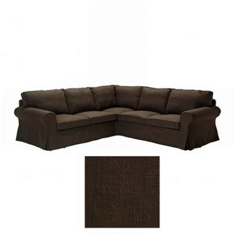 Corner Sofa Covers by Ektorp 2 2 Corner Sofa Cover Slipcover Svanby Brown
