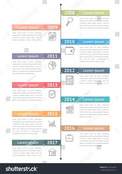 workflow timeline template vertical timeline infographics template workflow process