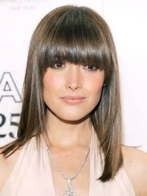 heavy bangs haircuts for thinning hair 71 best images about hairstyles with bangs on pinterest