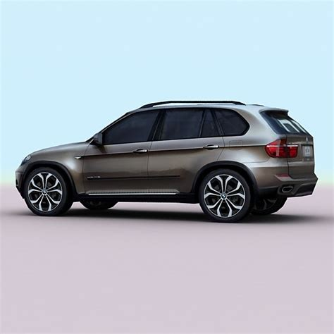 Fast Bmw Models by 2010 Suv 3d Model