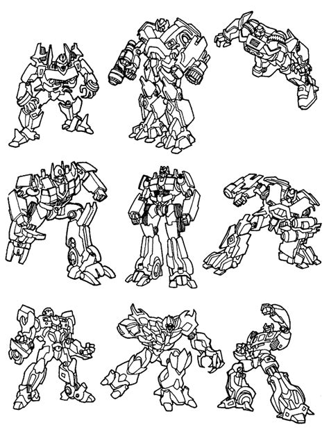 transformers coloring pages coloringpages1001 com