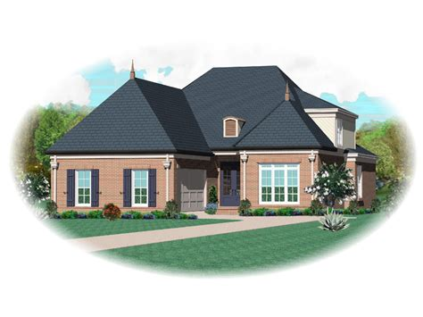 house plan with front kitchen normandy manor house plan normandy manor european home plan 087d 1362 house plans