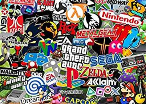 Coole Handy Sticker by Video Games Sticker Bomb A4 Size Sticker Decal Sheets