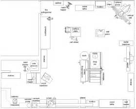 layout of vehicle workshop mechanic shop layout best layout room