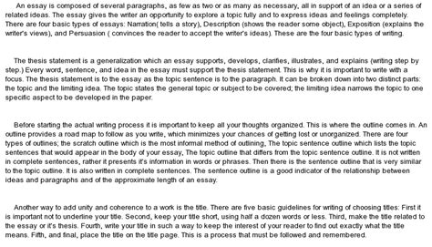 An Essay by What Is An Essay At Essaypedia