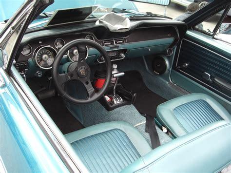 gulfstream aqua 1968 ford mustang convertible