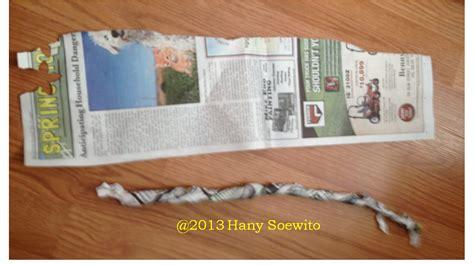 membuat kartu ucapan dari kertas pojok utak atik membuat mawar gulung dari kertas koran