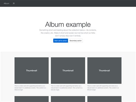 photo layout bootstrap exles 183 bootstrap