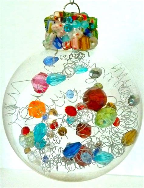 unique beaded glass christmas ornaments perfect for gifts