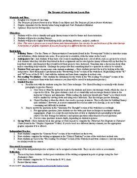 The Treasure Of Lemon Brown Worksheet Answers