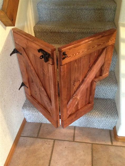 Diy Barn Door Baby Gate 25 Best Ideas About Gates For Stairs On Gates For Babies Safety Gates For