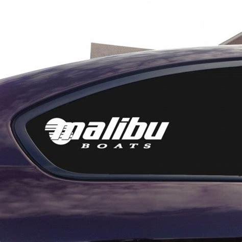 malibu boats sticker malibu boats decal