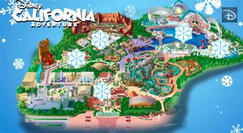 disney california adventure map mapping out the holidays disney california adventure park 171 disney parks
