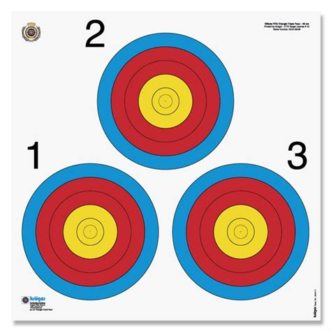 printable fita indoor targets targets lincoln bowmen archery club