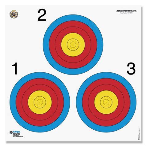 printable fita indoor targets target information metropolitan archery association