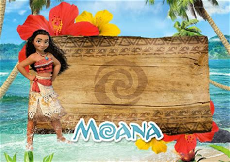 moana birthday card template moana free printable invitations oh my in