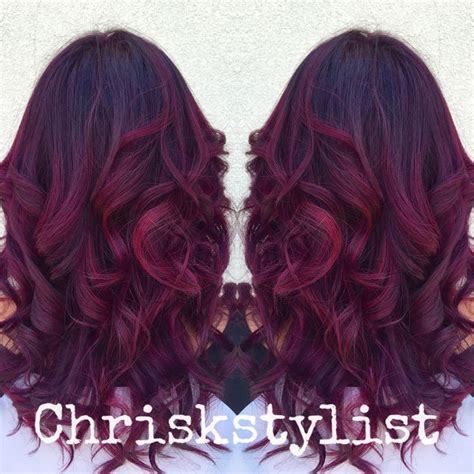 black hair to raspberry hair 9 best hurr did images on pinterest cabello de colores