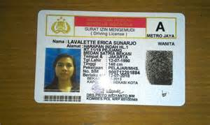 the making of driving license in indonesia the so called