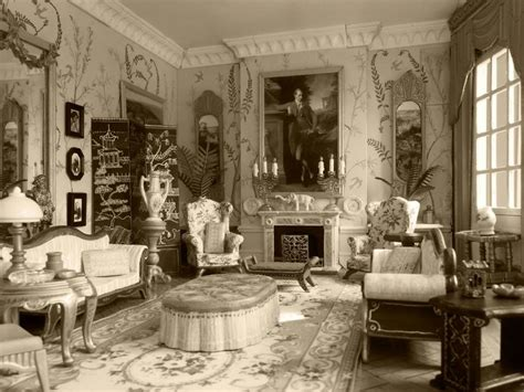 Edwardian Home Decor | enthralling elegant living room interior design with