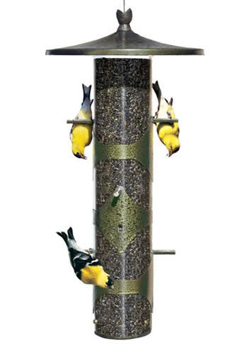 duncraft com upside down goldfinch feeder
