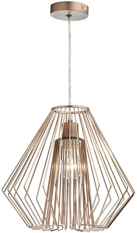 Easy Fit Ceiling Light Shades Dar Needle Modern Easy Fit Ceiling Pendant Shade Copper Nee6564