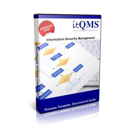 Information Security Management Itil Process Template Documentation It Quality Management Security Management Process Template