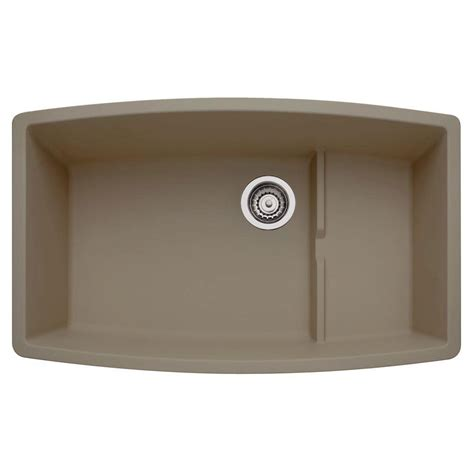 blanco performa kitchen sinks blanco performa undermount composite 32 in single bowl