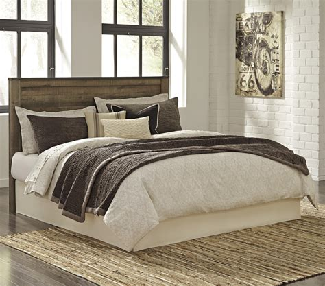 ashley furniture headboards signature design by ashley bryce b446 58 rustic look king