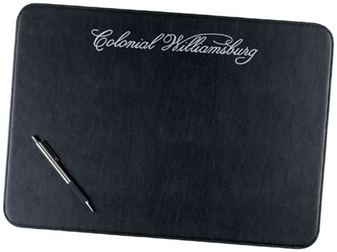 Leather Placemats For Conference Table Exec U Line Placemat 5944 American Solutions For Business