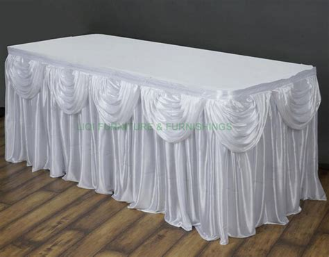 aliexpress buy table skirt table cloth wedding props