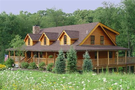 log homes with wrap around porches log cabin lets make this house into a home pinterest
