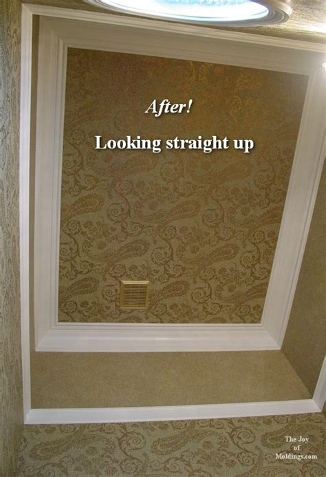 install crown molding  vaulted  cathedral