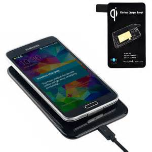 charger samsung s5 qi black wireless charging receiver charger pad for