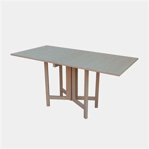 tavolo rovere sbiancato tavolo pieghevole farfalla rovere sbiancato bonodesign